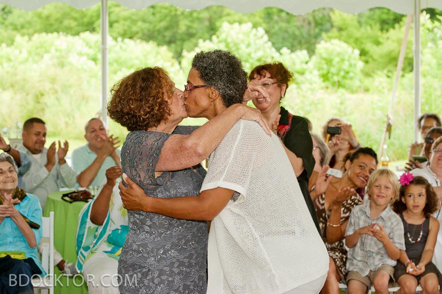 Berkshires gay wedding