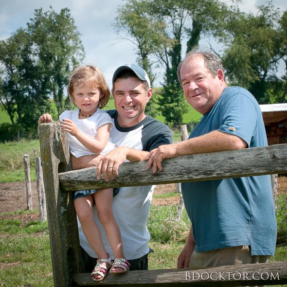 New York dairy farm photo