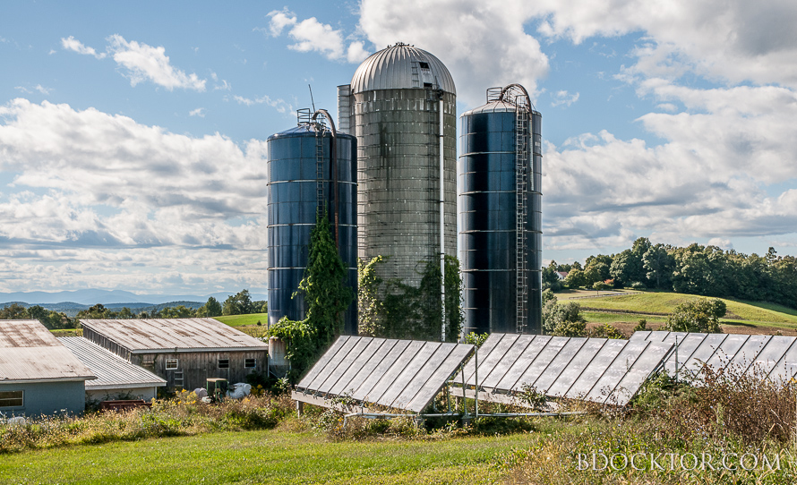 New York dairy farm photo