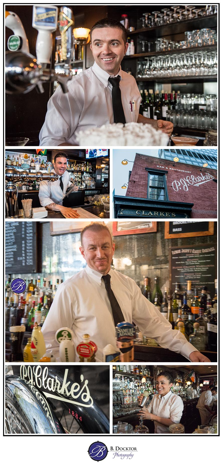 PJ Clarkes bartenders