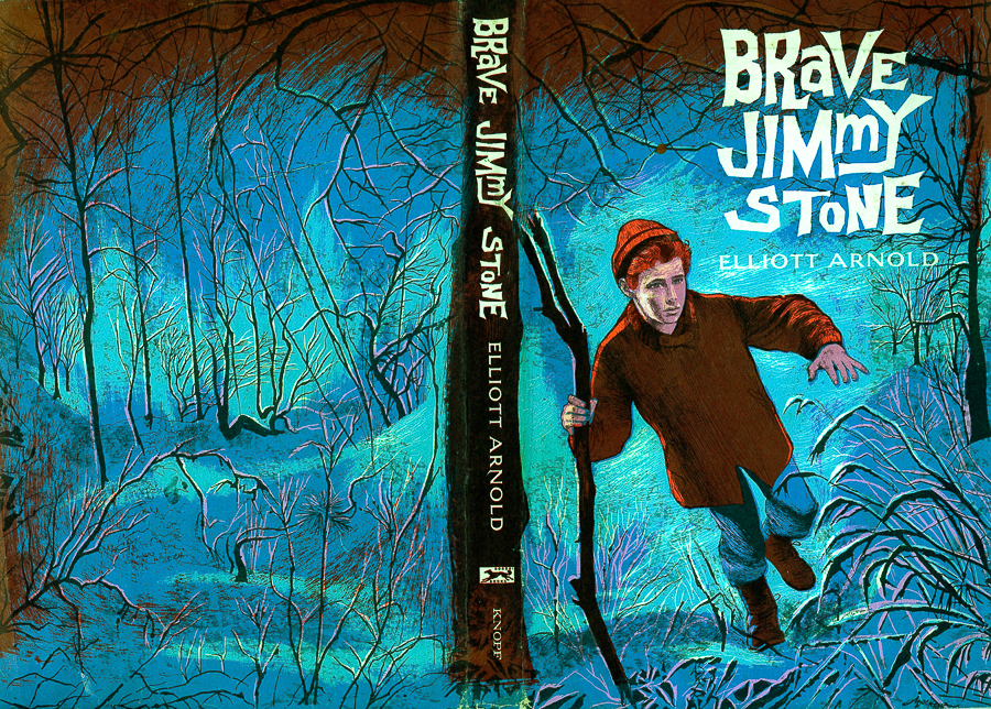 Paul posed for the illustrations for Brave Jimmy Stone