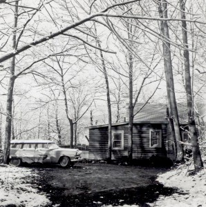 The house photographed by Irv in 1957