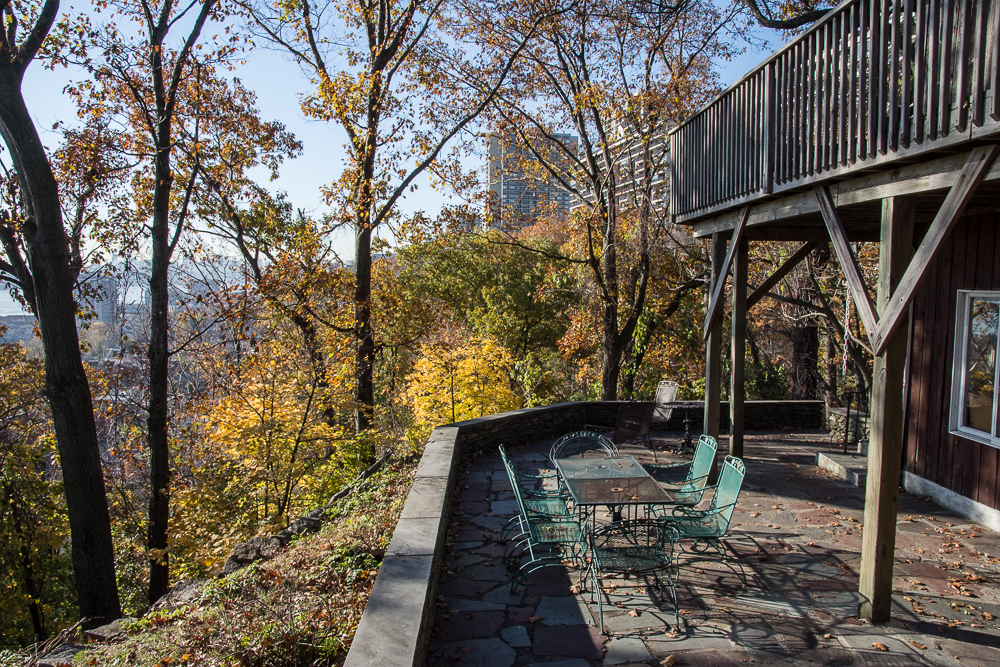 Incredible privacy with a wonderful large patio and upper deck.